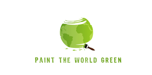 paint the world green logo