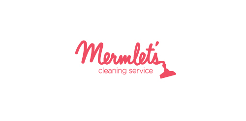 Mermlet's Cleaning Service logo