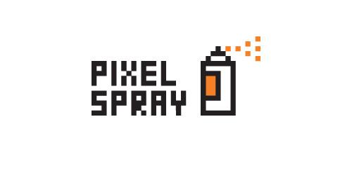 pixel-spray