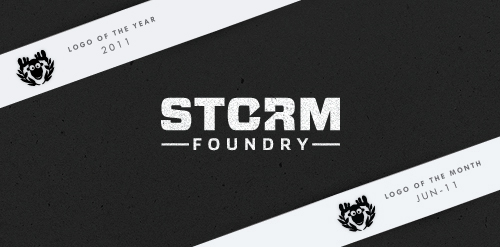 Logo of the year 2011 – Storm Foundry