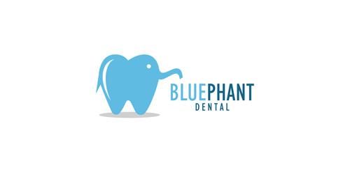 BLUE PHANT DENTAL logo