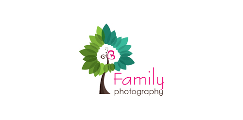 Family Photographer Logo Family Photography