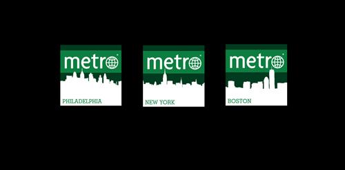 Metro US social media icons