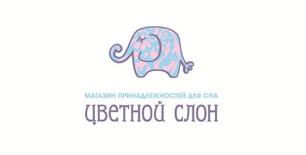 цветной слон*