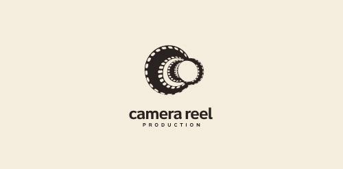 Camera reel logo logomoose for Camera film logo