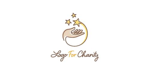 Logo for Charity logo • LogoMoose