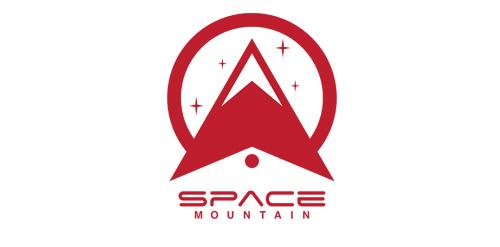 Space Mountain logo u2022 LogoMoose