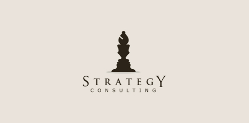 Strategy consulting logo logomoose logo inspiration for Strategic design consultancy
