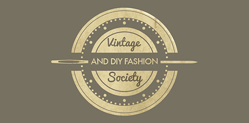 Vintage & DIY Fashion Society Logo