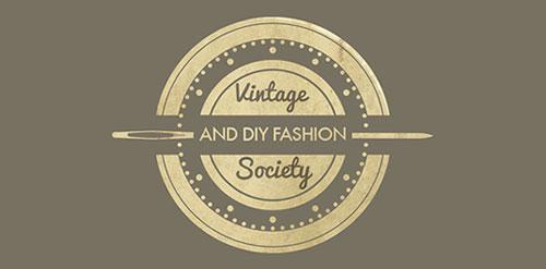Vintage & DIY Fashion Society Logo