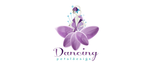dancing petal design