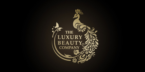 Luxury beauty product logos