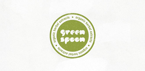 Green Spoon – natural logo