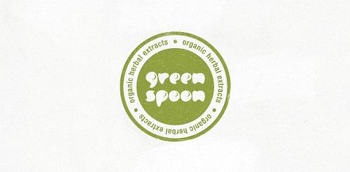 Green Spoon – natural logo