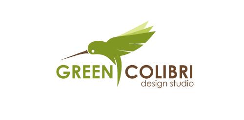 Green colibri