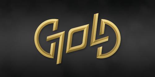 Gold Logomoose Logo Inspiration