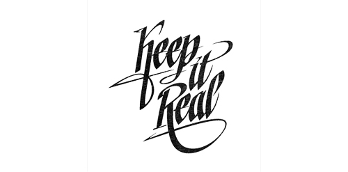 Keet it real logo