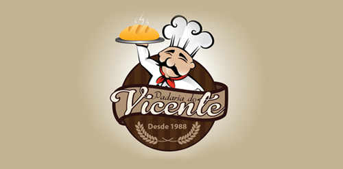 Padaria do vicente logo logomoose Design a new logo