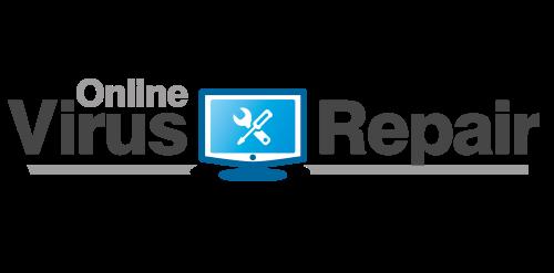 Online Virus Repair Logo