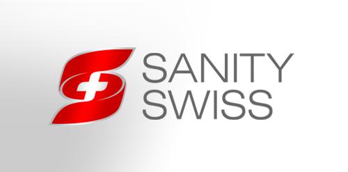 SANITY SWISS logo