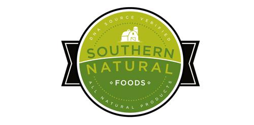 Natural Food Logo Southern Natural Foods Logo