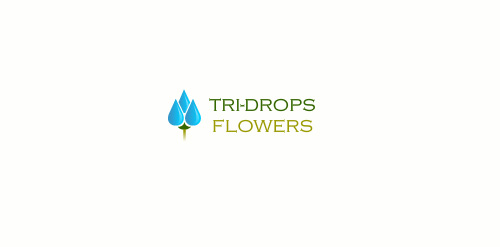 Tri-Drops Flowers