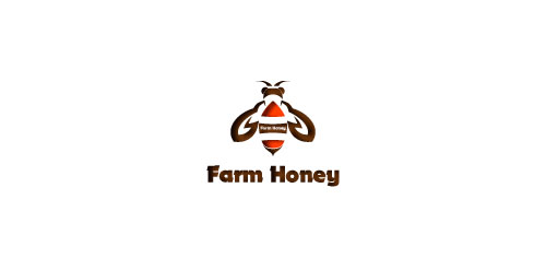 Logo  farm honey