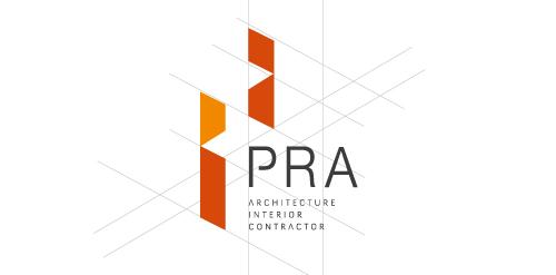 Pra architect interior contractor logo logomoose for Architecture logo