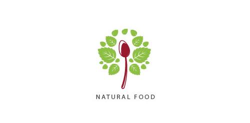 Natural Food Logo Natural Food Logo
