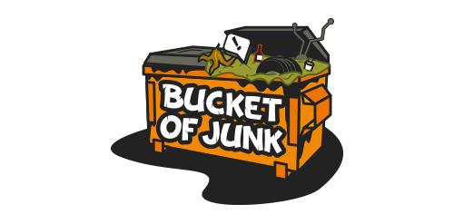 bucket of junk