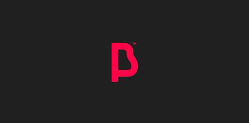 """PB"" monogram"
