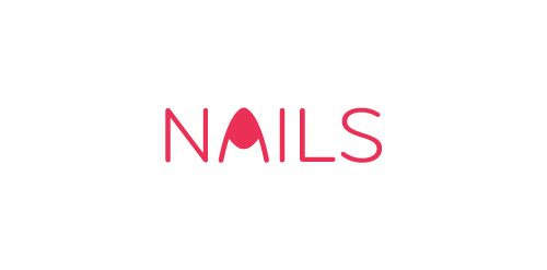 Nails Logo Designs