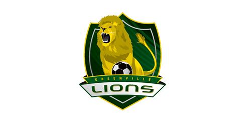 Greenville Lions Soccer Crest