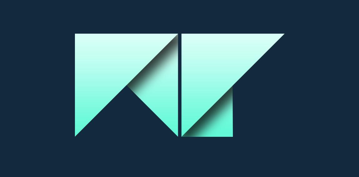 m p logo