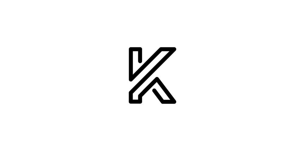 Letter-mark K lo...K Logo
