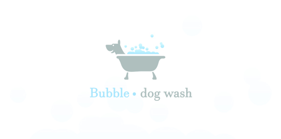 Bubble dog wash