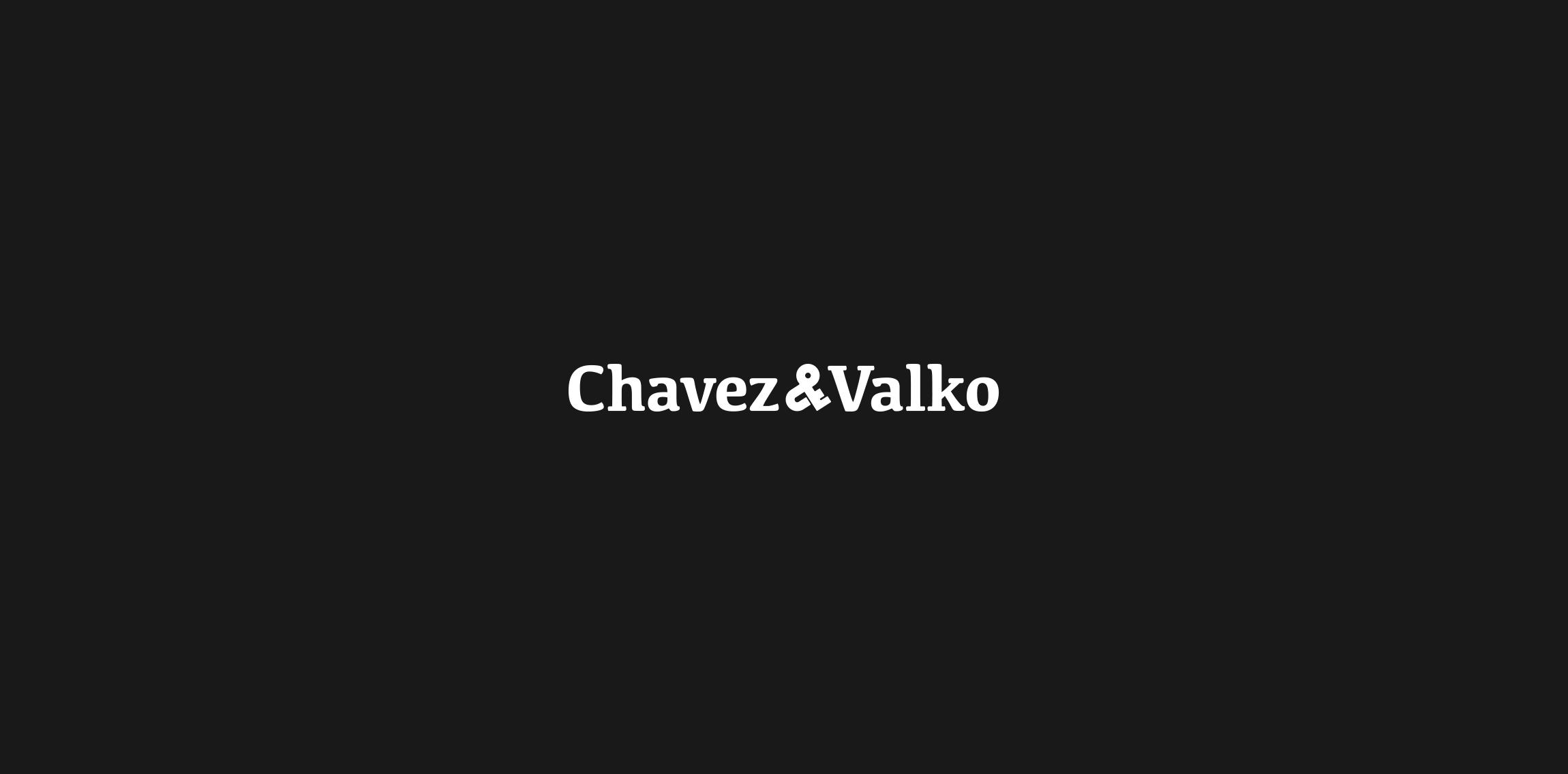 Chavez & Valko