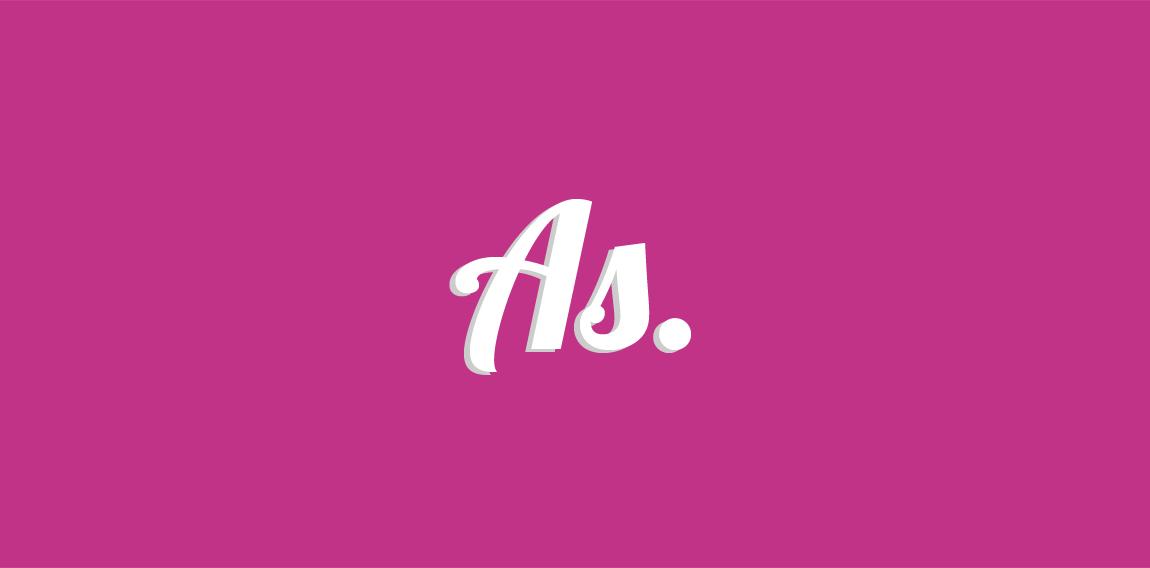 AS Personal Logo