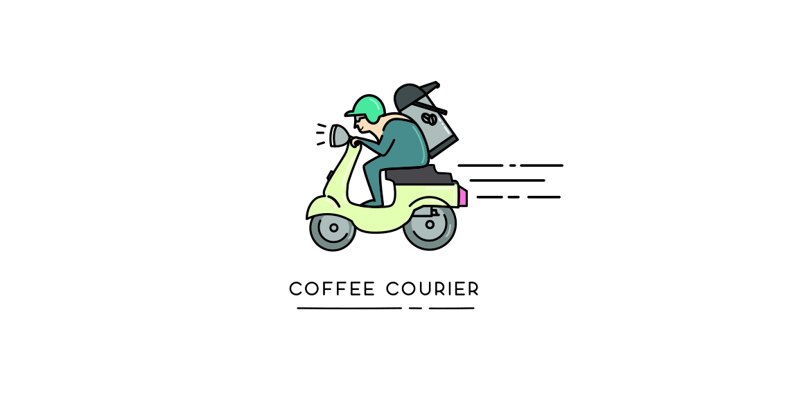 Coffee courier