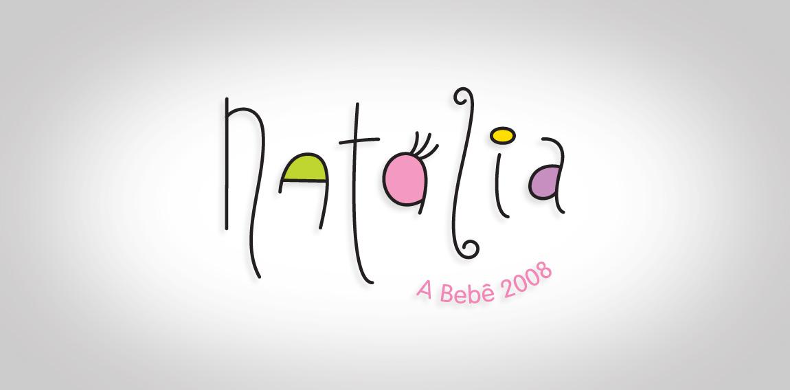 LOGO NATALIA, A BEBÊ DO ANO