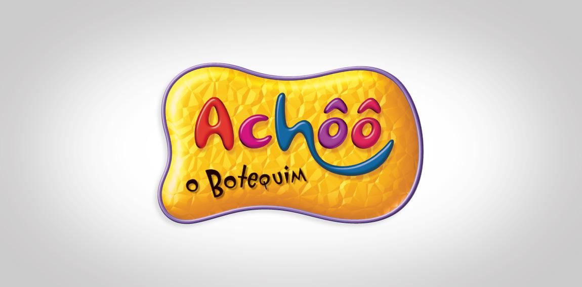 LOGO ACHÔÔ O BOTEQUIM