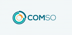 comso stock logo