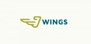 wings stock logo