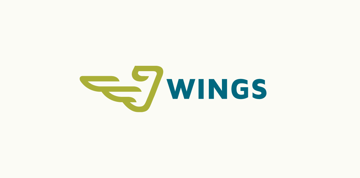 wings stock logo