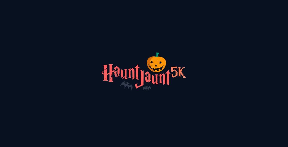 Haunt Jaunt 5k Halloween event logo