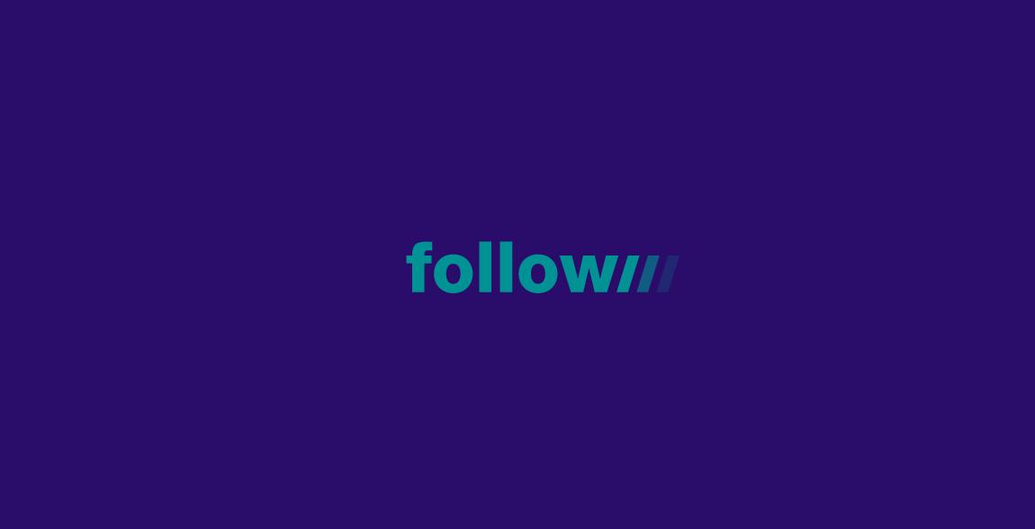 Follow Wordmark / Verbicons