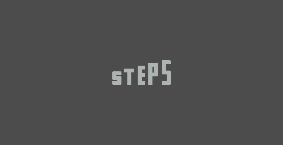 Steps wordmark / Verbicons