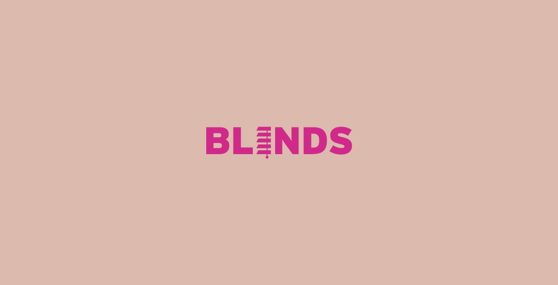 Blinds Wordmark / Verbicons