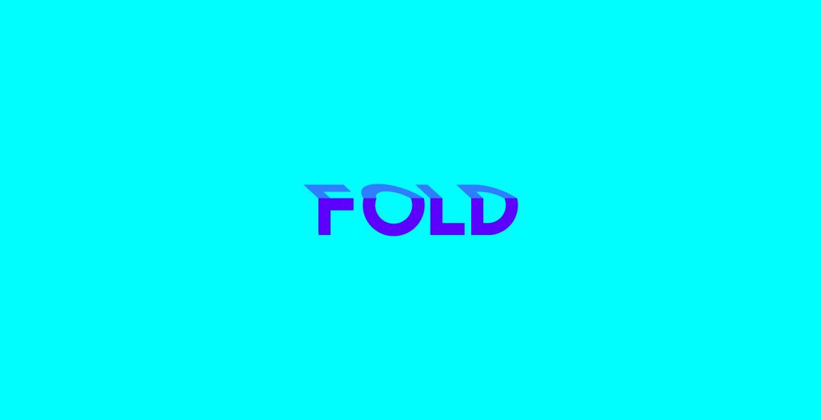 Fold Wordmark / Verbicons