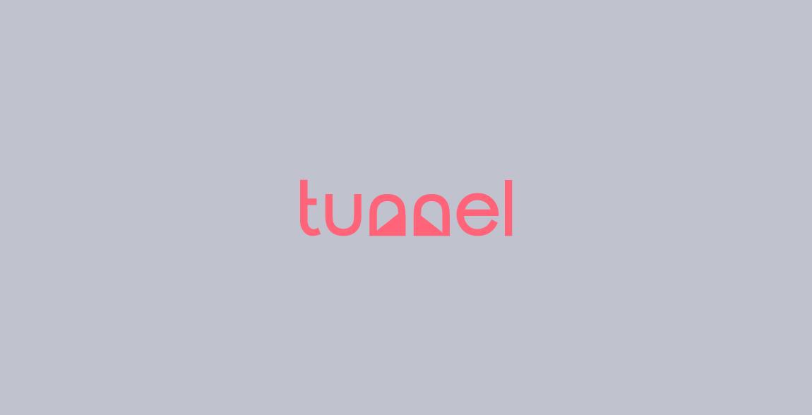 Tunnel Wordmark / Verbicons